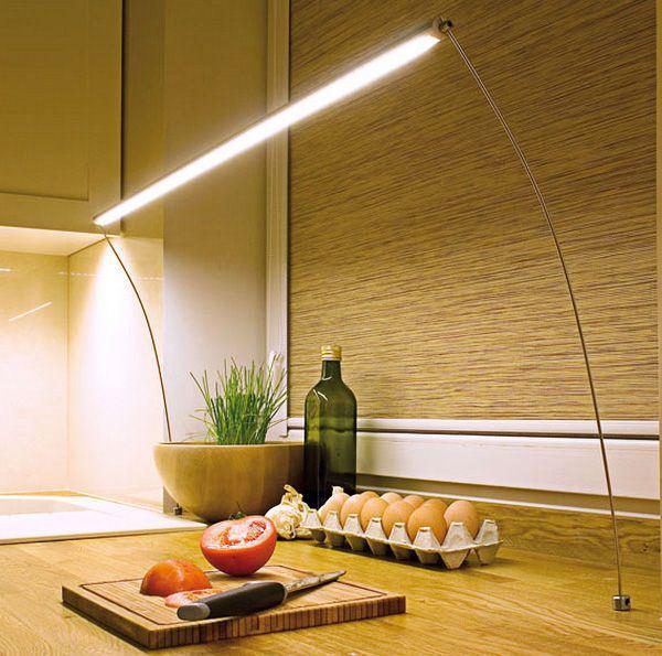 светодиодная подсветка рабочей поверхности