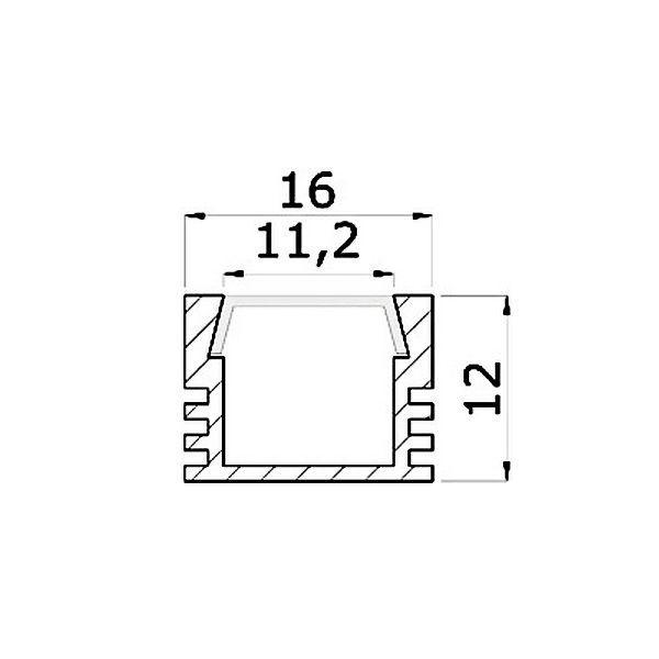 чертеж профиля PML-140