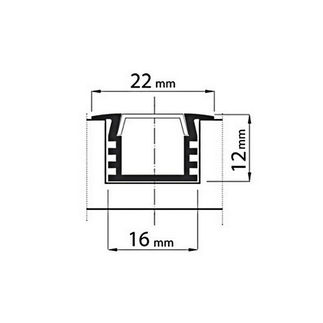 LED профиль PML-150