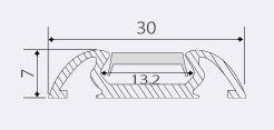 чертеж профиля PML-190