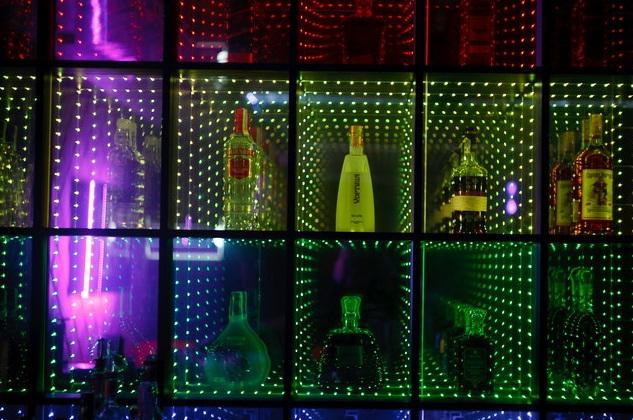 подсветка баров