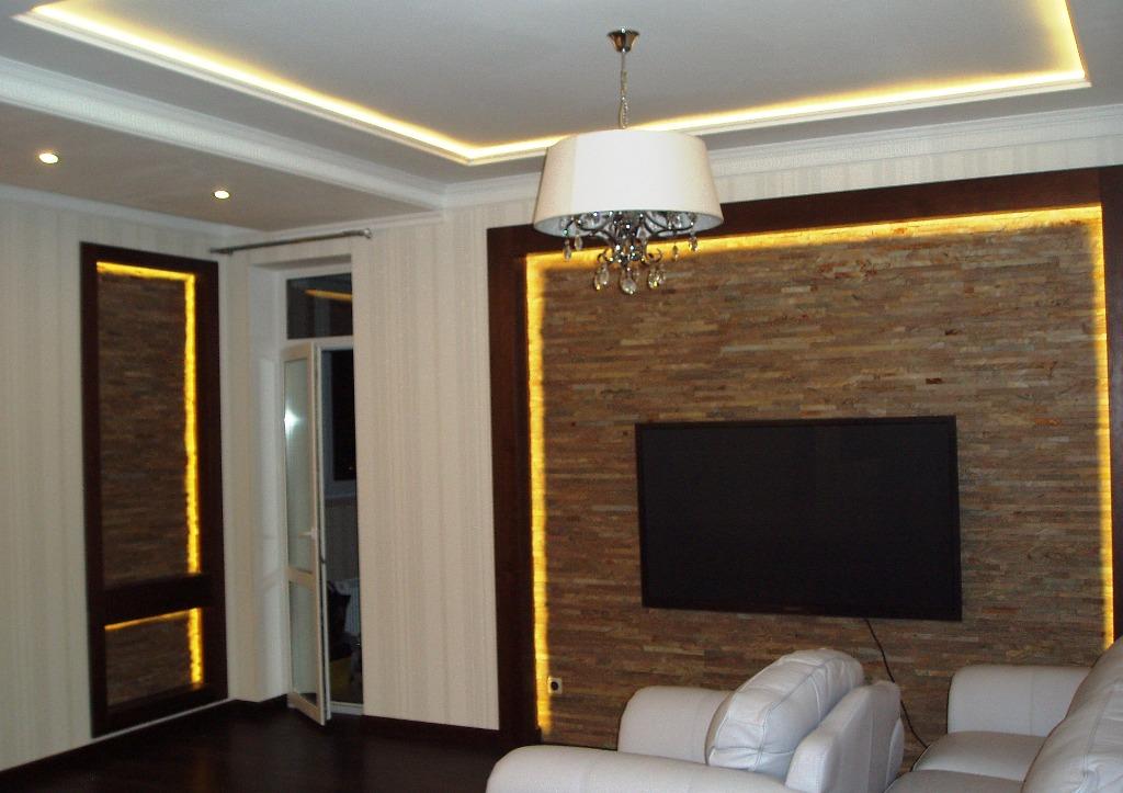 подсветка потолка и стен