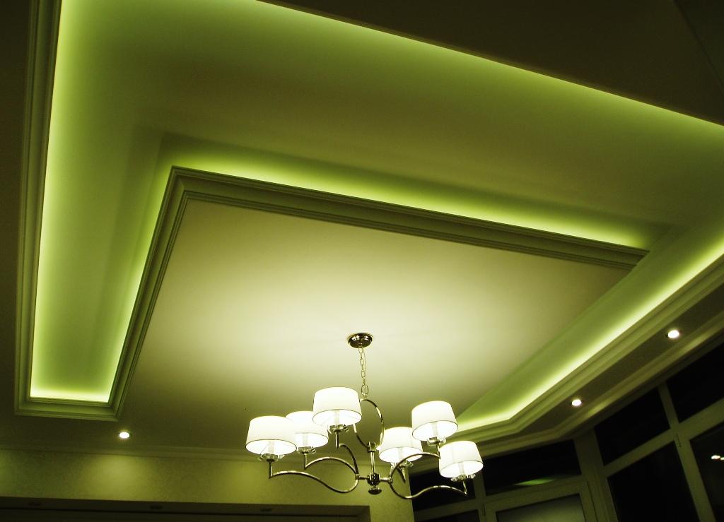 светодиодная подсветка потолков и стен